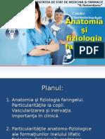 1.Anatomia Şi Fiziologia Faringelui