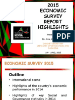 2015 Economic Survey Highlights