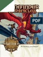Pathfinder Chronicles - Gazetteer (Español)