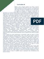 Curriculum Di Antonio Luciano Pensabene
