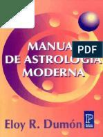 Eloy R Dumón - Manual de Astrología Moderna