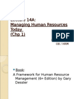 HR chapter 1