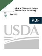AgriChem usage 2007 USDA report