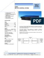American Fibertek MRX-8406C-P Data Sheet