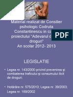 Legislatie - modificat