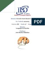 Investigacion - Procesadores - Gerardo Osiris Ramirez Avila ISC 5A - Lenguajes de Interfaz