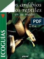 Biologia - Los Anfibios y Los Reptiles en Su Medio