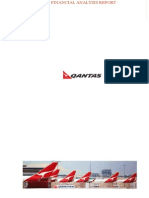 Qantas Financial Analysis Report