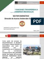 Exposición Programa de Capacidades Del MEM. Trasferencia DREMs
