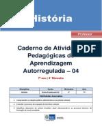Apostila Historia 7 Ano 4 Bimestre Professor