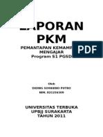 Laporan Pkm