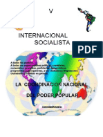 Convocatoria en México a la V Internacional Socialista