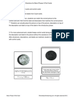 Montessori Moon Phases 3 part cards