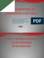 Módulo I- Teoría de Circuitos - Tema 1- Generalidades y CC en Régimen Estacionario