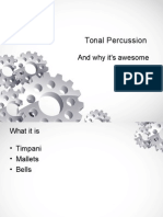 tonal percussion