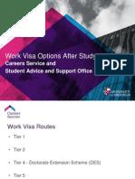 Work Visa After Study