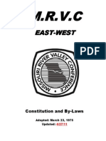 MRVC East West by Laws