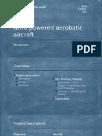 Nitro Powered Aerobatic Aircraf t