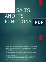 Bile Salts & It's Functions