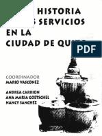 Historia Servicios Quito-Vasconez