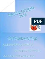 ReSoLuCiioN 2013
