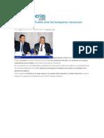29-04-2015 Poblanerías.com - RMV Promueve a Puebla Ante Los Banqueros Mexicanos