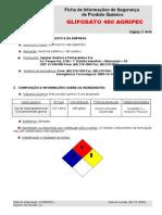 FISPQ Glifosato 480