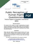 Human Rights Survey General Public (2)