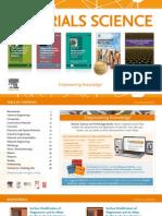 Materials Science Engineering Books Catalog