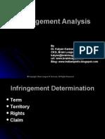 Presentation on Infringement Analysis