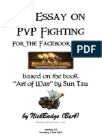 An Essay on PvP Fighting