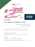 Timeslot Planer und Notizen