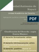 Clasificación de Derecho_conjuntos