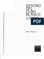 Dentro Del Cubo Blanco-O'Doherty
