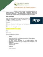 Programa Curso PETCT Para Tecnicos SA