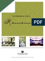 2014 Wedding Menu NP