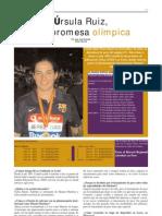 Úrsula Ruiz, Una Promesa Olímpica