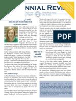 Centennial Review - May 2015