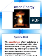 2013 reaction energy