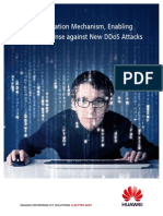 Huawei Anti-DDoS Solution v-IsA Technical White Paper