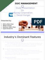 Strategic Management of Mytag