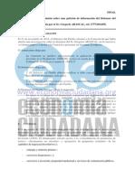 Argumentos de la Comisión Europea para denegar el acceso a los documentos del TTIP
