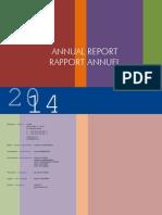 Rapport Annuel CCBE 2014