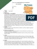 Informacion de Los 22 Departamentos de Guatemala