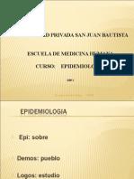1eraclase2009 Iiepidemio 090707093320 Phpapp02