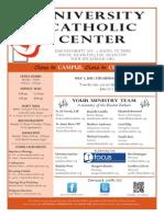 UCC Bulletin 5-03-2015