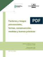Factores y Riesgos Psicosociales Formas, Consecuencias INSHT