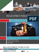Relaciones Publidas,Promocion de ventas y publicidad