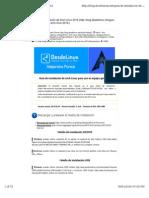 Archlinux install 2015