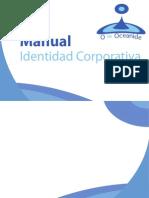 Manual Identidad Corporativa. Perfumeria O de Oceanide